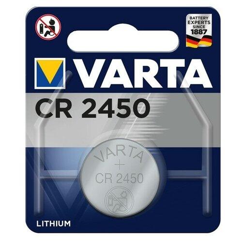 Элемент питания Varta Lithium CR2450 3V (1 шт) батарейка varta cr2450 1 шт