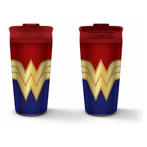 Кружка-термос Wonder Woman: Strong (Metal Travel Mug) (450 мл.)