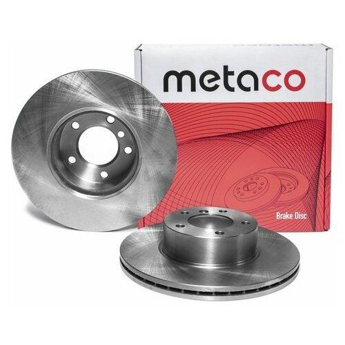 Диск тормозной передний вентилируемый (Производитель: METACO 3050158)