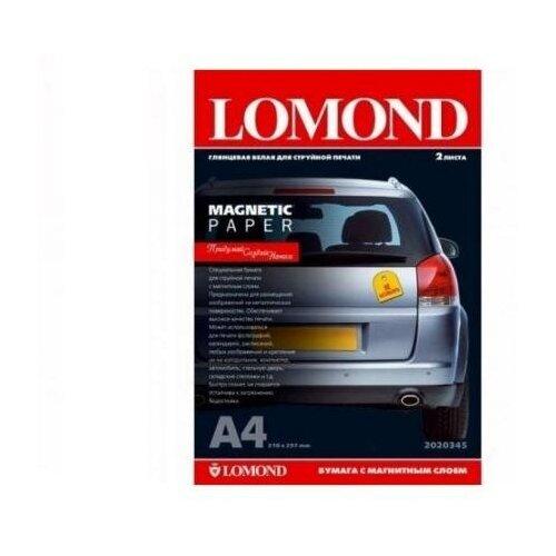 Фото - LOMOND Фотобумага Lomond 2020345 A4 660г/м2 глянцевая с магнитным слоем 2 листа lomond 2020345