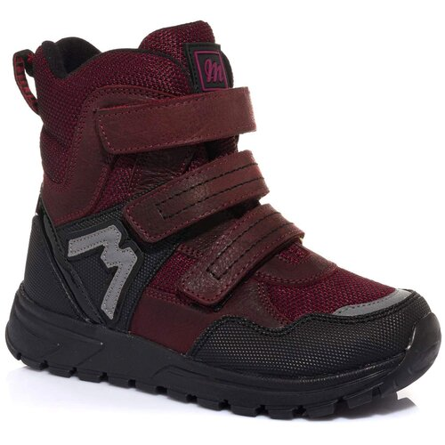 Ботинки MINIMEN размер 25, бордовый