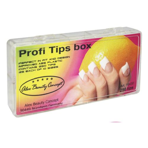 Купить Типсы Alex Beauty Concept PROFI TIPS BOX (250 ШТ)