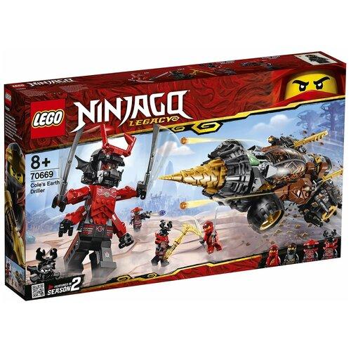 Фото - Конструктор Lego Ninjago Земляной бур Коула (70669) конструктор lego ninjago 70599 дракон коула
