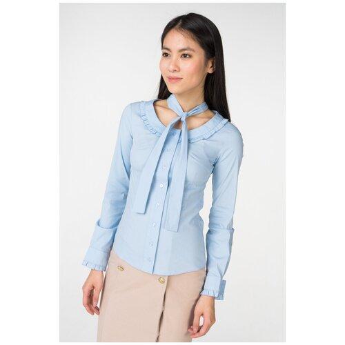 Блуза adL, размер 44/M, голубой