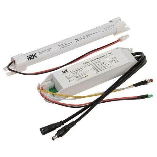 Блоки аварийного питания IEK Блок аварийного питания БАП40-1.0 для LED ИЭК LLVPOD-EPK-40-1H