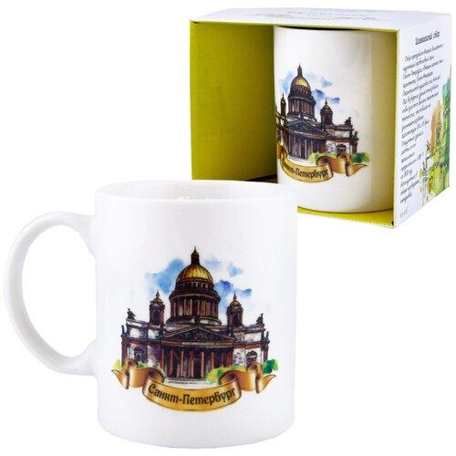 Кружка «Города России: Санкт-Петербург. Исаакиевский Собор» (подарочная упаковка)