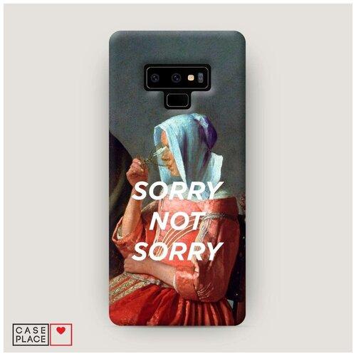 Чехол Пластиковый Samsung Galaxy Note 9 Sorry not sorry