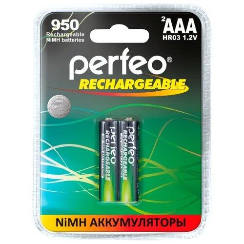 Фото - Аккумулятор AAA - Perfeo 950mAh (2 штуки) PF AAA950/2BL PL аккумулятор perfeo aa2500mah 2шт