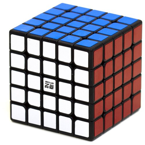 Кубик Рубика 5х5 QiYi MoFangGe QiZheng (S) Черный