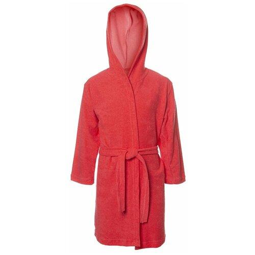 Купить Халат M&D размер 116, коралловый, Домашняя одежда