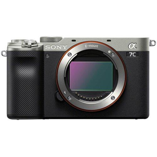 Фотоаппарат Sony Alpha ILCE-7C Body silver фотоаппарат sony alpha ilce 7c body black