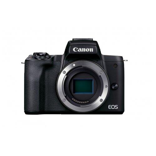 Фотоаппарат Canon EOS M50 Mark II Kit черный EF-M 18-150mm IS STM фотоаппарат canon eos m50 kit ef m 15 45mm f 3 5 6 3 is stm white 2681c012