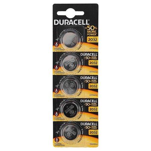 Фото - Батарейка CR2032 - Duracell DR CR2032/5BL EU (5 штук) батарейка smartbuy cr2032 5 шт