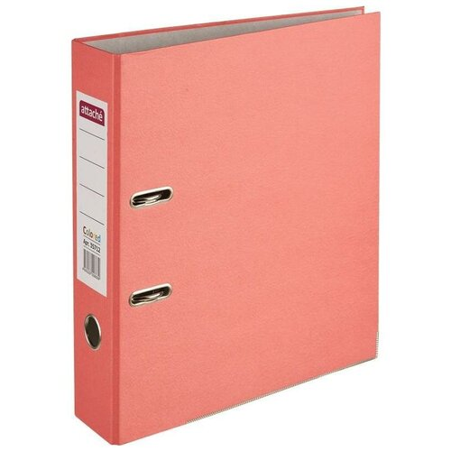 Купить Attache Папка-регистратор Colored light А4, 75 мм красный, Файлы и папки