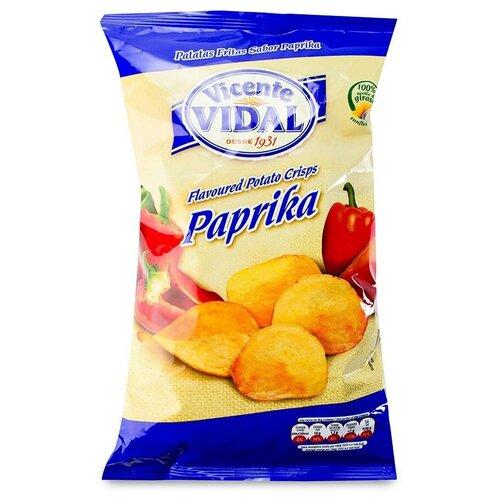 Фото - Чипсы Vicente VIDAL картофельные с паприкой, 135 г vicente gallego barrado contra toda creencia