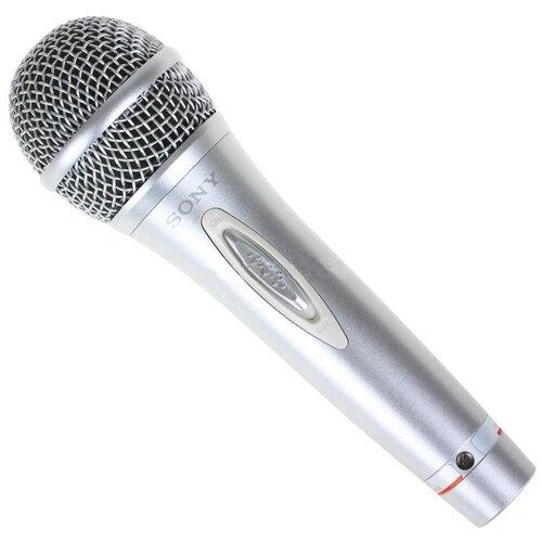 Микрофон Sony F-V620, серебристый
