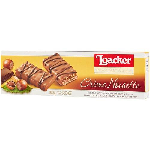 вафли loacker vanille 90 г Вафли Loacker Вафли Loacker Gran Pasticceria с ореховой начинкой, 100 г
