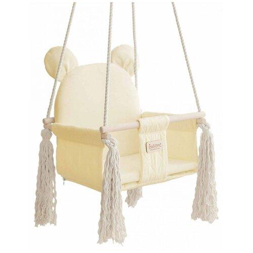 Фото - Leader Качели подвесные Sweet Bear, Ванильный Крем качели подвесные orion sweet bear цвет ванильный крем 70804