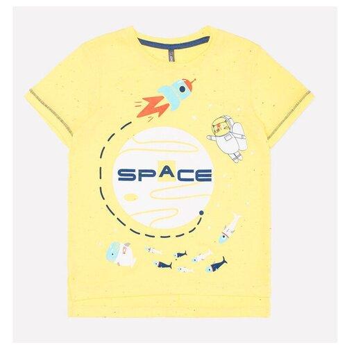 Фото - Футболка crockid, размер 122, желтый к248 футболка crockid размер 122 леденец