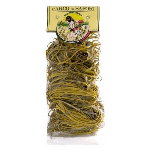 Цветная паста клубок желто-черная Pastificio Curti 250 г