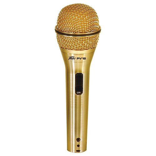 Микрофон Peavey PVi 2 XLR, золотистый