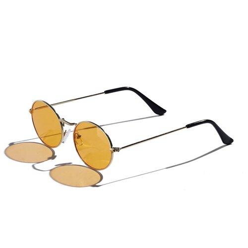 Фото - Солнцезащитные очки Ундина Красная Жара (золотистый; черный; оранжевый) парик интуиция красная жара ярко оранжевый