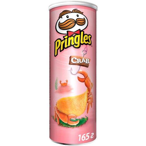 Чипсы Pringles картофельные Crab, 165 г чипсы pringles картофельные spring onion 165 г