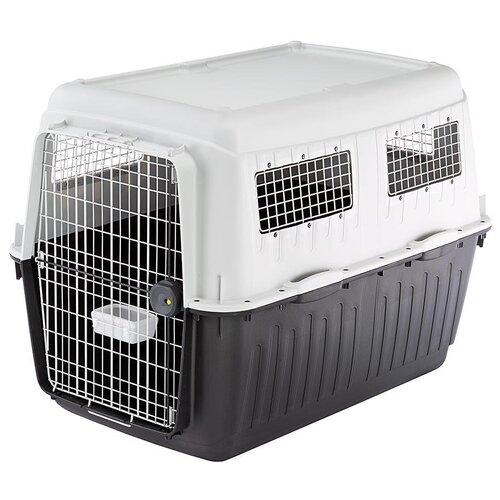 Фото - Клиппер-переноска для собак Ferplast Atlas 80 Professional 80х88х118 см серый клиппер переноска для собак imac linus cabrio 50х32х34 см розовый