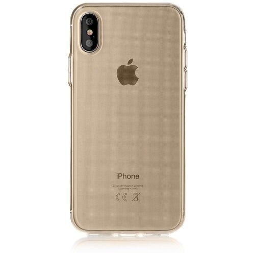 Фото - Чехол-накладка uBear Tone для Apple iPhone X/Xs semi transparent чехол накладка ubear soft tone для apple iphone 6 iphone 6s прозрачный