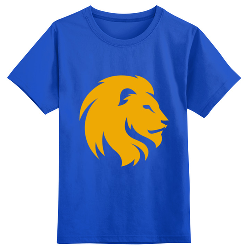 Футболка Printio, размер 2XS, синий