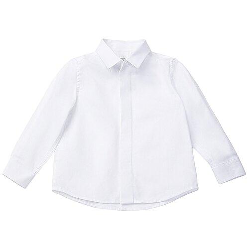 Рубашка Gulliver размер 110, белый