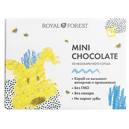 Фото - Шоколад ROYAL FOREST Mini Chocolate из необжаренного кэроба, 30 г шоколад royal forest молочный из обжаренного кэроба 75 г