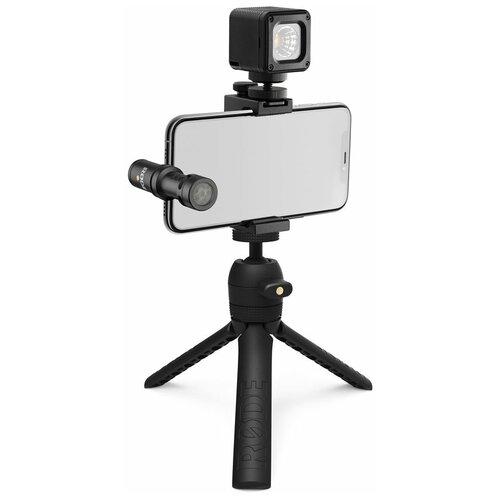 Микрофон RODE Vlogger Kit iOS Edition, black