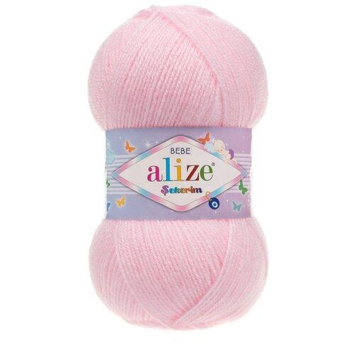 Купить Пряжа для вязания ALIZE 'SEKERIM BEBE' 100гр. 320м (100% акрил) (184 пудра) 5 мотков