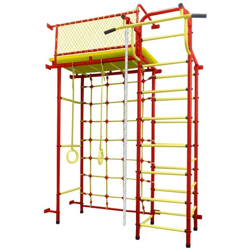 Купить Спортивно-игровой комплекс Пионер 10СМ, красный/желтый, Игровые и спортивные комплексы и горки