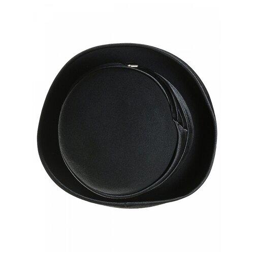 Щелково-фетр 76-55 Шляпа женская мод.А76 цвет черный р 55