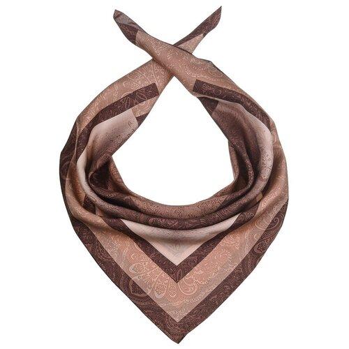 Платок Dr.Koffer S810705 100% шелк коричневый