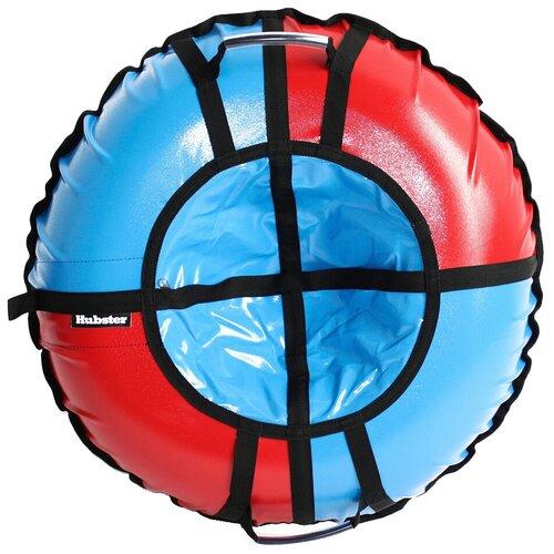 Фото - Тюбинг Hubster Sport Pro 90 см красный-синий тюбинги hubster люкс pro тундра 90 см