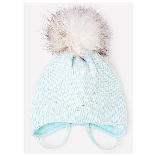 Шапка crockid размер 50-52, светлая бирюза шапка crockid размер 54 56 бирюза