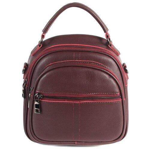 Фото - Рюкзак женский натуральная кожа MEYNINGER А-СВ-20582/бордовый, модель рюкзак рюкзак 605030 бордовый
