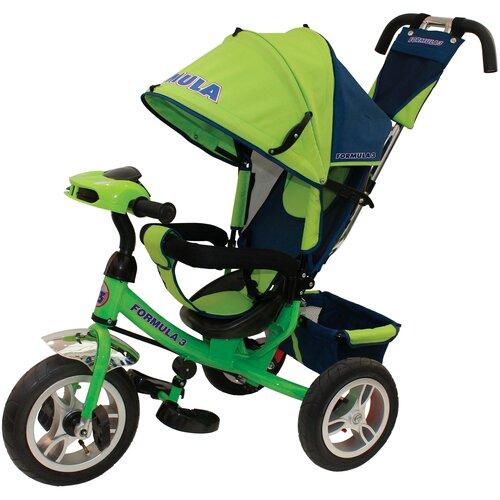 Трехколесный велосипед Formula FA3 Formula 3, зеленый