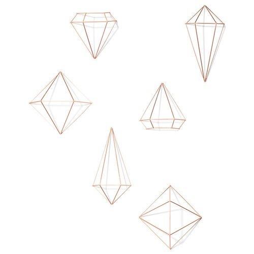 Декор для стен prisma медь