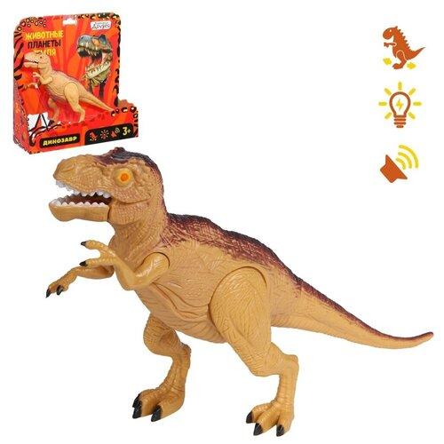 Робот Компания Друзей Тираннозавр JB0208528, коричневый