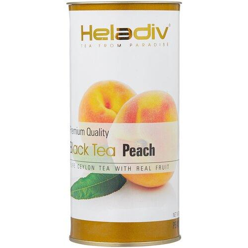 чай черный heladiv premium quality black tea lemon 100 г Чай черный Heladiv Premium Quality Black Tea Peach, 100 г