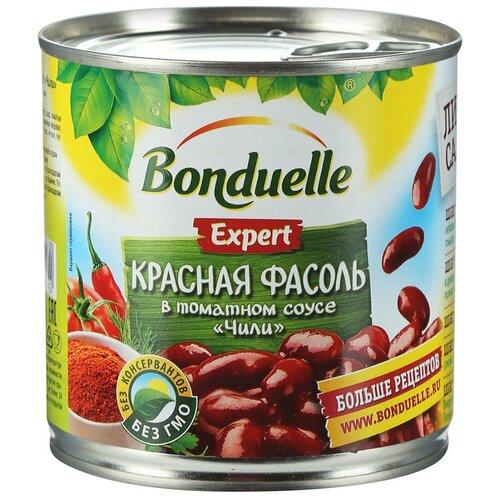 Фасоль Bonduelle Expert красная в томатном соусе Чили, 400 г