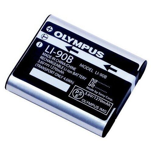 Фото - Аккумулятор OLYMPUS Li-90B аккумулятор vbparts li 10b 3 7v 1200mah 077153 для olympus camedia c 50