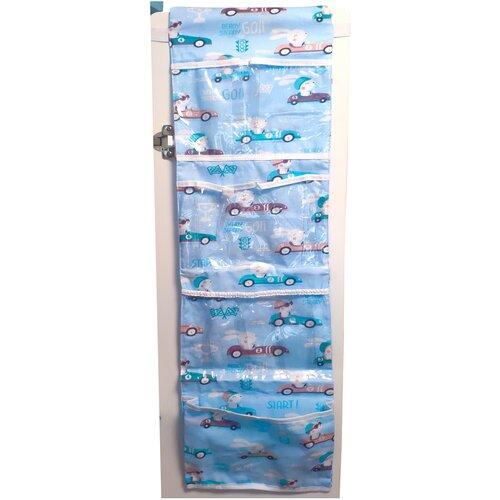 lili gaufrette болеро Органайзер Lili Dreams в шкафчик для детского сада подвесной миди Гоночки, цвет голубой лед