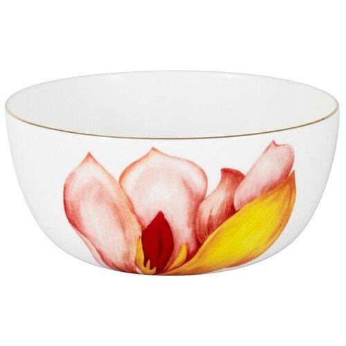 Фото - Салатник Anna Lafarg Magnolia, 14 см, 0.75 л, в подарочной упаковке (AL-706M-E11) салатник anna lafarg emily magnolia 14 см 750 мл