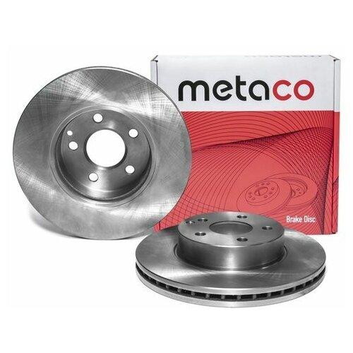 Диск тормозной передний вентилируемый (Производитель: METACO 3050123)