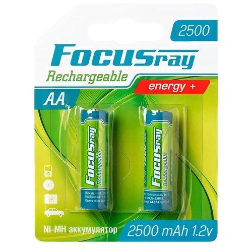 Фото - FOCUSray 1900 mAH AA 2/24/288 аккумулятор аккумулятор aa fujitsu hr 3utceu 4b 1900 mah 4 штуки